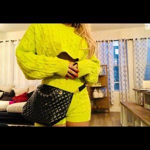 Chanel Precision line cosmetic bag/ crossbody